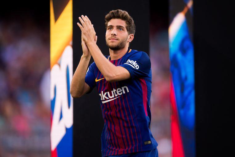 Verlaat Sergi Roberto Camp Nou? Beeld getty