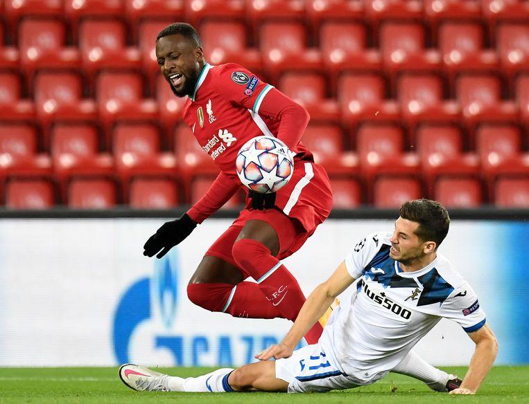 Liverpool-aanvaller Divock Origi. Beeld AP