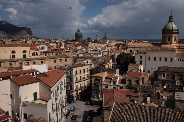 Het historische centrum van Palermo Beeld Giulio Piscitelli