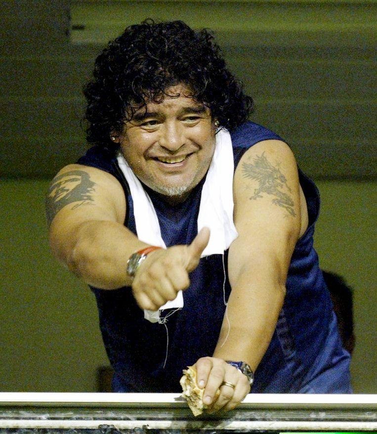 Diego Maradona. Beeld Reuters