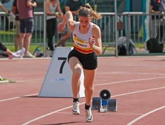 """Belgische 4x100m-juniores naar EK U20. Zoë Laureys: """"Leuk dat we de limiet nog hebben gehaald."""""""