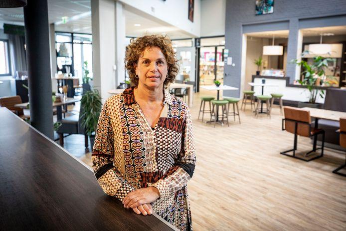 Karin Snijders van het kulturhus in Denekamp.