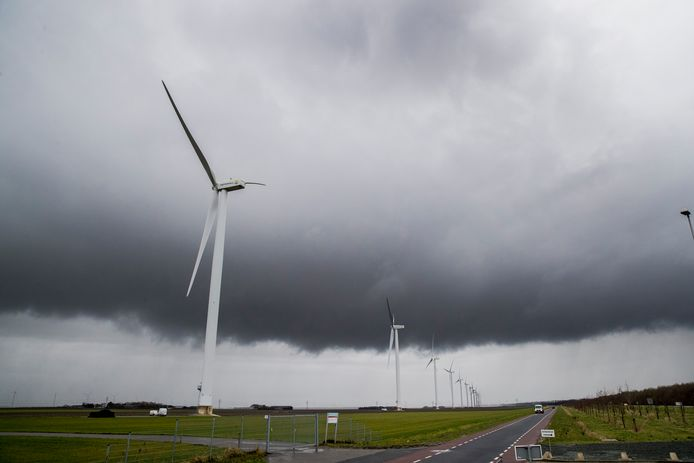 Windturbines Foto: Rob Voss