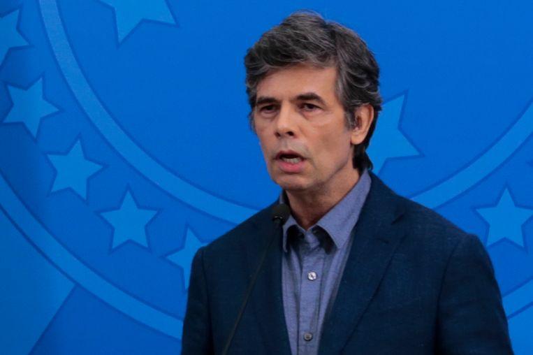 De nieuwe Braziliaanse minister van Gezondheid Nelson Teich. Beeld AFP
