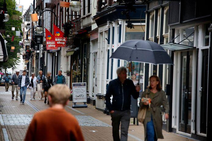 Foto ter illustratie. Binnenstad Gorinchem.