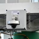 De geplaatste camera bij de scheepsspottersplek aan de oude Veerhaven in Terneuzen.