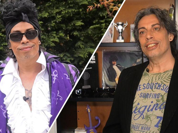 Prince-lookalike Faar rouwt om zijn held, vijf jaar na overlijden