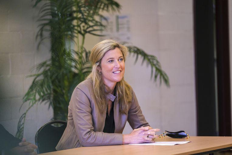 Minister van Binnenlandse Zaken Annelies Verlinden (CD&V). Beeld BELGA