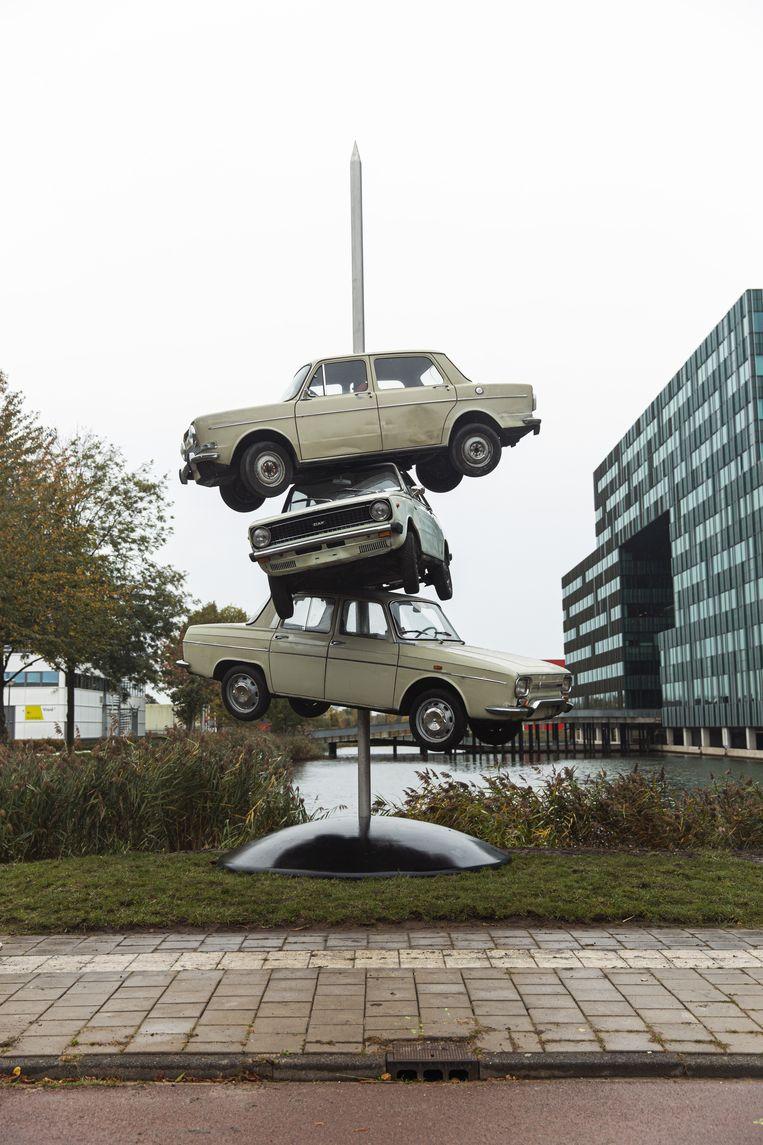 De Autoprikker Beeld -