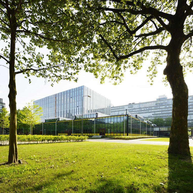 Het gebouw van de TU Eindhoven. Beeld Hollandse Hoogte