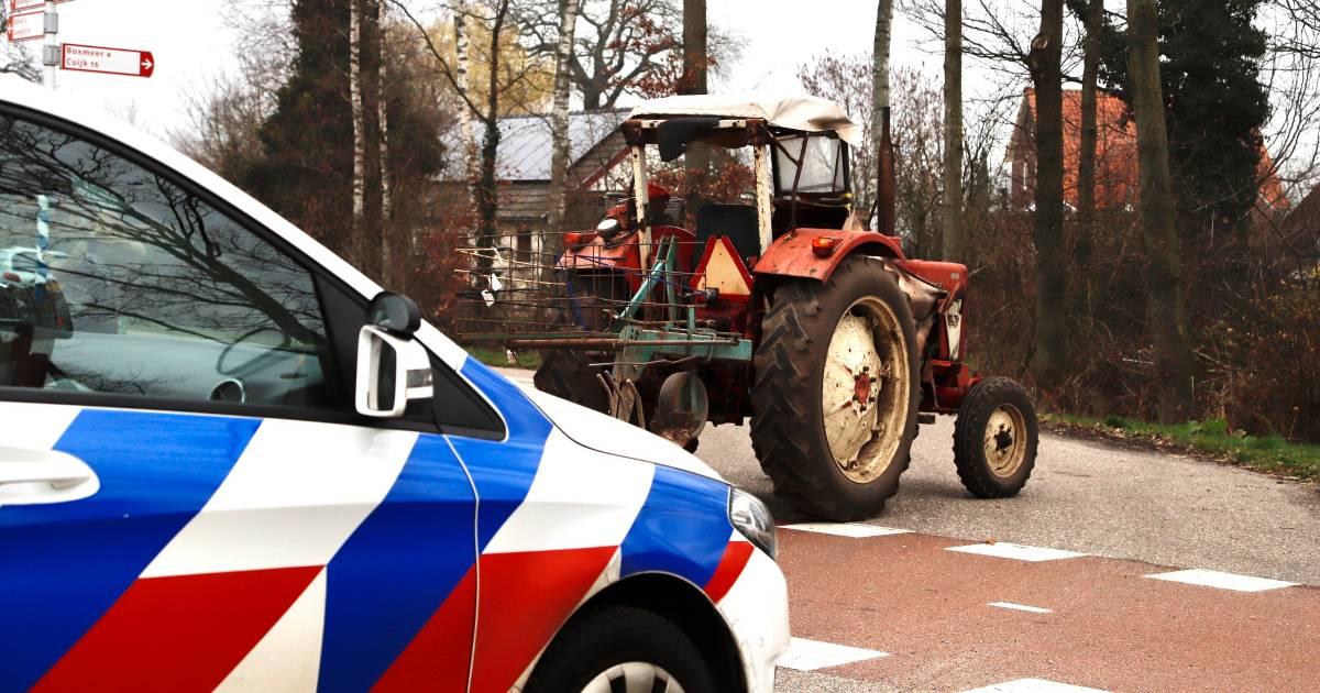 Meisje op weg naar school aangereden door tractor in Sint Anthonis.