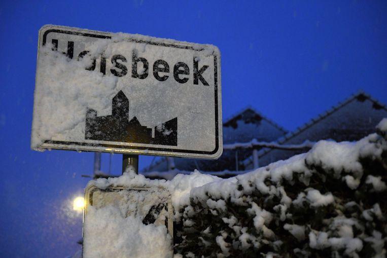 Voor heel wat inwoners was het laagje sneeuw een welkom geschenk en al zeker voor de kinderen die vakantie hebben deze week.