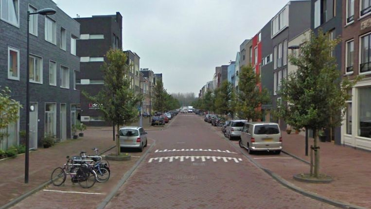 Jan Olphert Vaillantlaan Beeld Google streetview