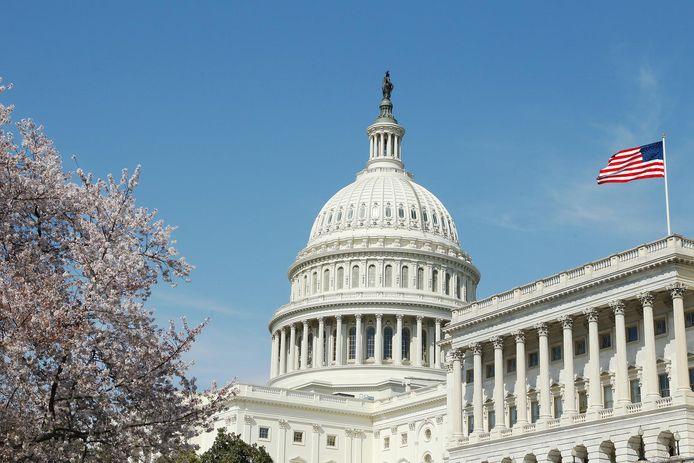 Het Capitool in Washington DC, waar het Congres huist.