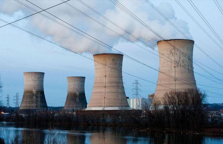 Het dreigingsniveau voor de Britse kerncentrales blijft hoog. De dreiging komt volgens de instanties van terroristen, buitenlandse spionnen en zogenaamde 'hacktivisten'. Beeld getty