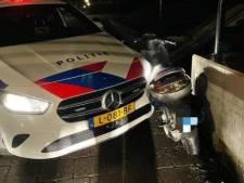 Fikse boeteregen voor klemgereden scooterrijder in Lelystad: 'Onhandig'