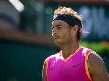 Nadal haakt af voor duel met Federer
