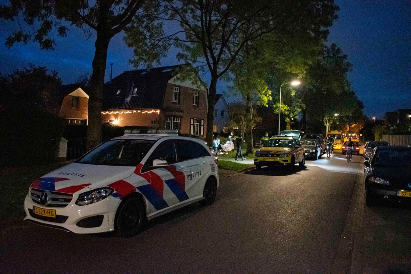 Veel hulpdiensten na het incident in Elst.