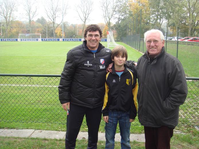 Willem van Hanegem als trainer van FC Utrecht