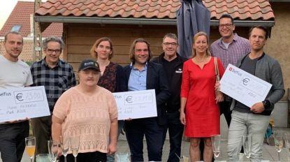 Opgedoekt PWA schenkt cheques aan Heierveld, Ter Linde en Groep Intro