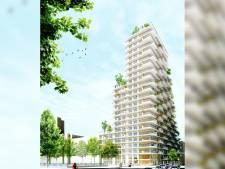 Prijs appartement in 70 meter hoge woontoren Luxemburglaan loopt op tot 5,5 ton