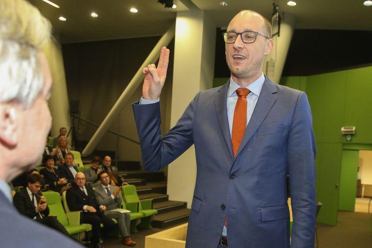 Eedaflegging burgemeester De Pinte, Vincent Van Peteghem.
