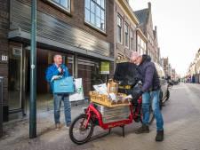Ondernemers worden inventief: lokale bezorgdienst in Hattem, modepakket in Heerde