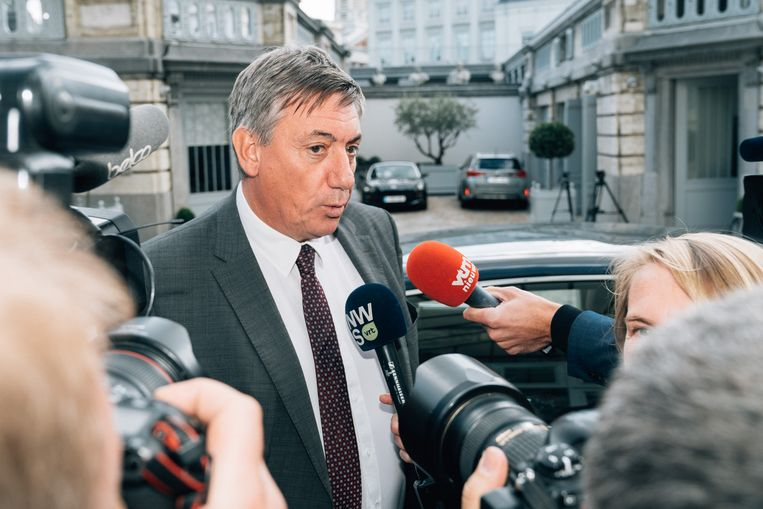 Kan formateur Jan Jambon (N-VA) begin volgende week de eed afleggen als de volgende Vlaamse minister-president? Beeld Illias Teirlinck
