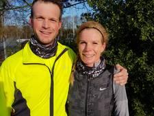 Broer en zus trainen voor Marathon Rotterdam: kijken hoe de hazen lopen