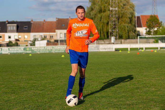 Kenny David is 32 jaar, speelde drie seizoenen bij FC Kluisbergen en zal volgend seizoen niet meer voetballen.