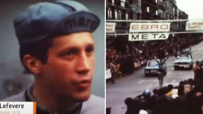 """Patrick Lefevere won 43 jaar geleden laatste grote profkoers: """"Ik dacht dat het nog 5 km was, maar ik moest er nog 20 afleggen"""""""