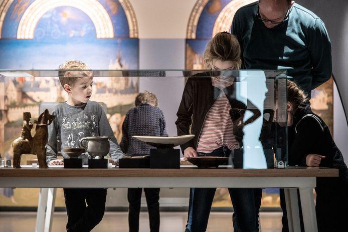 Museum het Valkhof: familietentoonstelling Middeleeuws Vernuft.