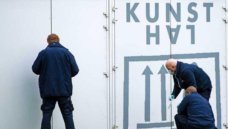 Uit de Kunsthal werden zeven schilderijen gestolen Beeld anp