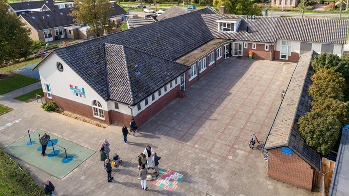 De Noorderschool in Giethoorn. (archiefbeeld)
