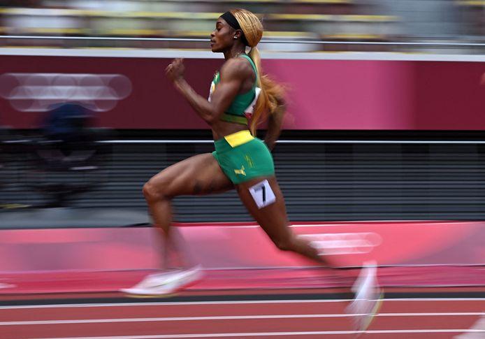 Elaine Thompson is een van de favorieten op de 100 meter.