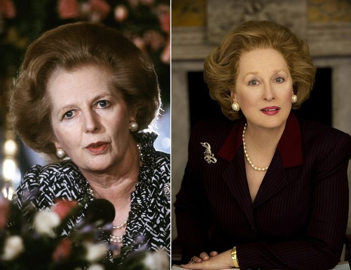 Maggie versus Meryl: net echt!