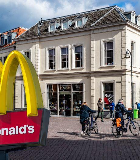 Menukaart telt niet bij discussie over McDonald's in Deventer binnenstad