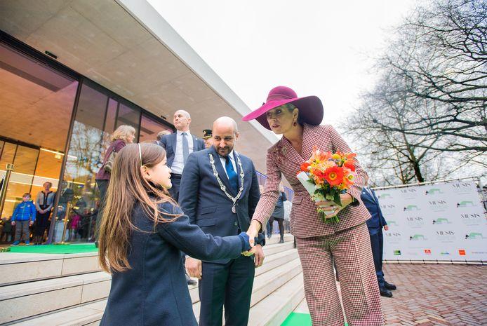 Koningin Máxima, twee jaar geleden in Arnhem vanwege de heropening van Musis, reikt later dit jaar de Appeltjes van Oranje uit.