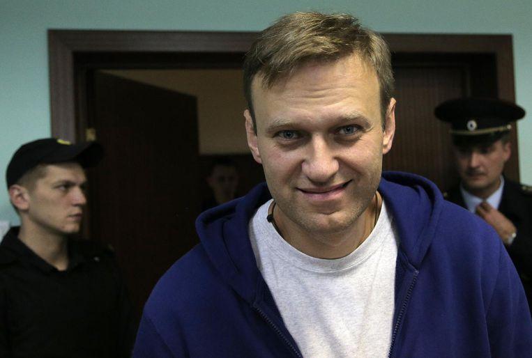 Aleksej Navalny. Beeld epa