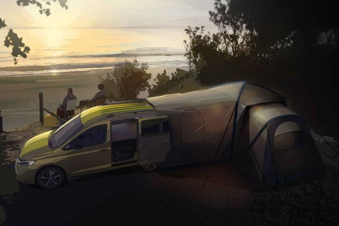 Volkswagen Caddy Mini Camper