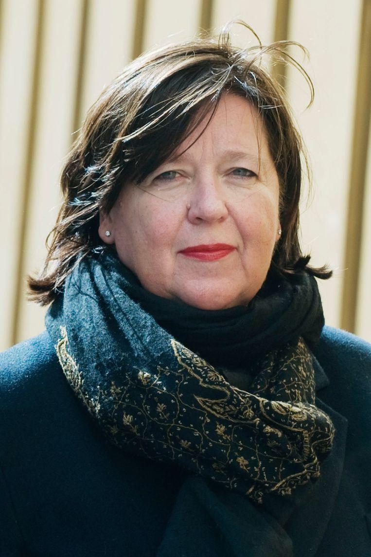 Ellen 't Hoen: 'Patenten vrijgeven is een logische stap.' Beeld Reyer Boxem / HH