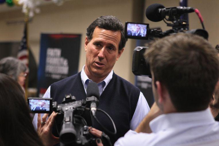 Rick Santorum. Beeld AFP