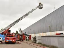 Brand in Alphense loods door verpulverde matrassen