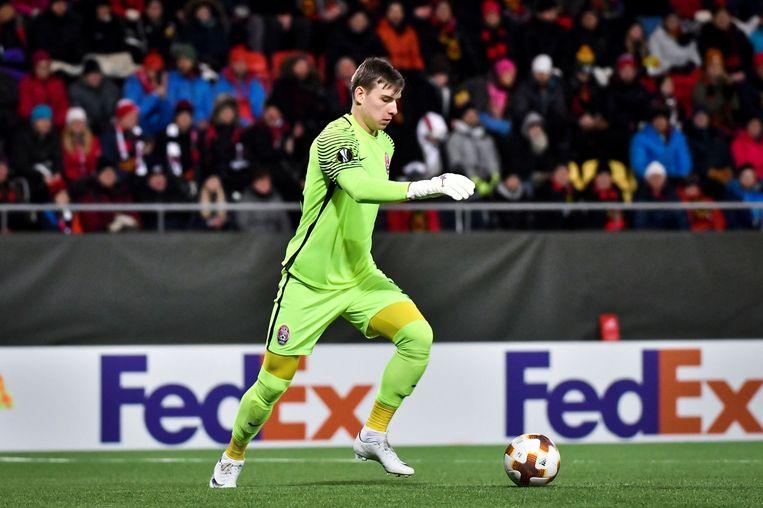 Andriy Lunin tekende een contract voor zes seizoenen.