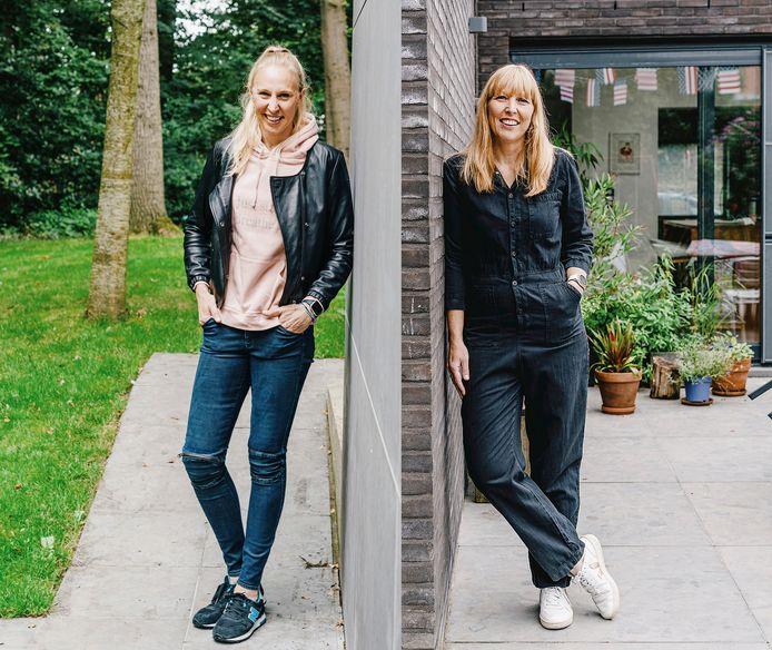 """Ann (l.) en Ilse Wauters: """"We bellen elkaar bijna dagelijks."""""""