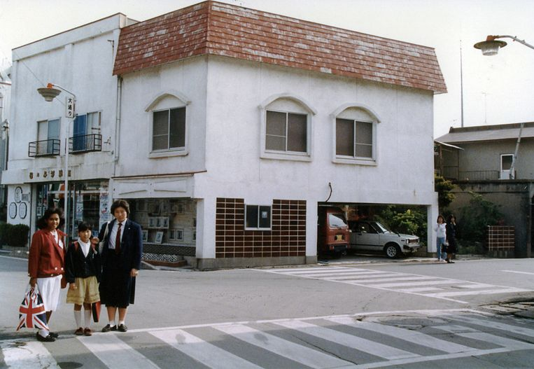 Suzuki's ouderlijk huis annex de fotostudio van haar vader. Beeld uit het boek The Restoration Will van Mayumi Suzuki
