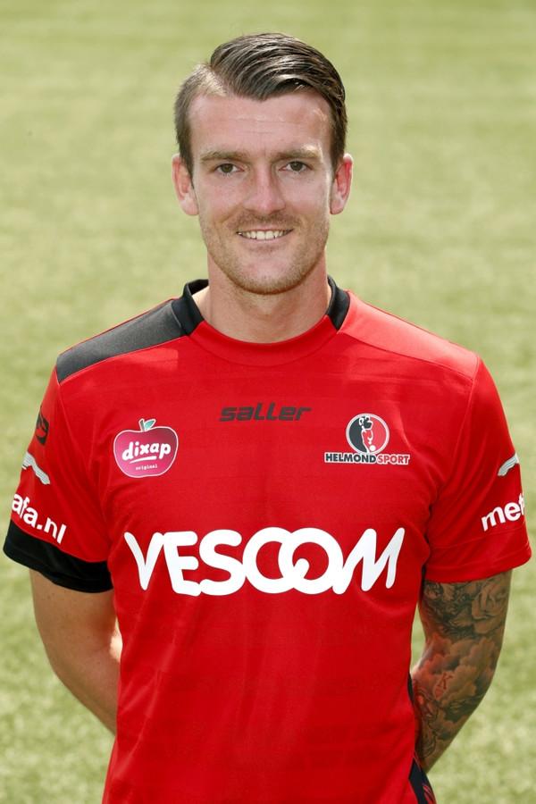 Arne Naudts knikte Helmond Sport op voorsprong tegen Heracles.