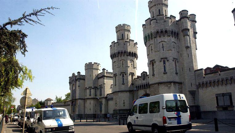 Onder meer deze gevangenis van Sint-Gillis zal vervangen worden door de nieuwe supergevangenis. Beeld BELGA