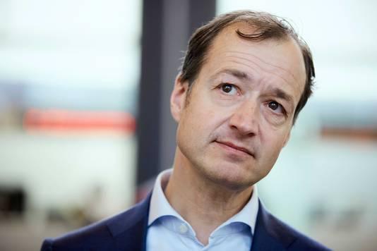 Staatssecretaris Eric Wiebes van Financien.