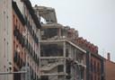 Le site de l'explosion causée par une fuite de gaz, mercredi 20 janvier